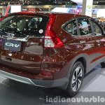 Honda CR-V (facelift) rear three quarter view at the 2015 Bangkok Motor Show
