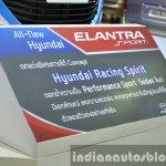 Hyundai Elantra Sports Concept description at the 2015 Bangkok Motor Show