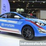 Hyundai Elantra Sports Concept front three quarter at the 2015 Bangkok Motor Show