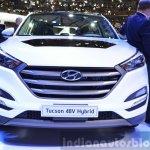 Hyundai Tucson 48V Hybrid Concept front at the 2015 Geneva Motor Show