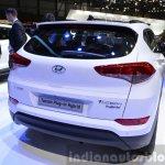 Hyundai Tucson 48V Hybrid Concept rear at the 2015 Geneva Motor Show