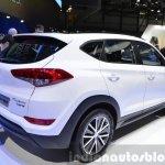 Hyundai Tucson 48V Hybrid Concept rear three quarters at the 2015 Geneva Motor Show