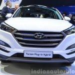 Hyundai Tucson Plug-in Hybrid grille Concept at the 2015 Geneva Motor Show