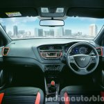 Hyundai i20 Active Orange interior press shots