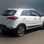 Hyundai i20 Active SX diesel rear three quarter reader image