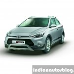 Hyundai i20 Active Silver front press shots