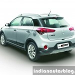 Hyundai i20 Active Silver rear end press shots