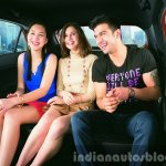 Hyundai i20 Active back seat press shots