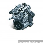 Hyundai i20 Active diesel engine press shots