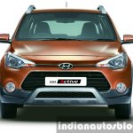 Hyundai i20 Active front fascia press shots