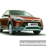 Hyundai i20 Active front press shots