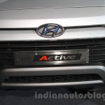 Hyundai i20 Active grille live images