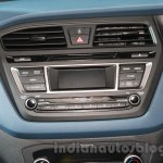 Hyundai i20 Active music system live images