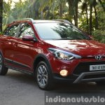 Hyundai i20 Active petrol front quarter Review