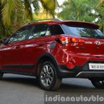 Hyundai i20 Active petrol rear quarter Review