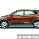 Hyundai i20 Active side press shots