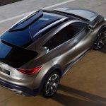 Infiniti QX30 Concept top view