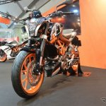 KTM 250 Duke front three quarter