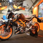 KTM 250 Duke side profile view