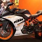 KTM RC250 profile side view