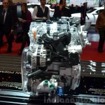 Kia 1.0-litre T-GDi engine at the 2015 Geneva Motor Show