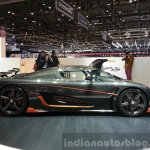 Koenigsegg Agera RS side view at the 2015 Geneva Motor Show