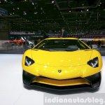 Lamborghini Aventador SV front at the 2015 Geneva Motor Show