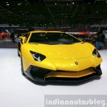 Lamborghini Aventador SV front view at the 2015 Geneva Motor Show