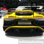 Lamborghini Aventador SV rear at the 2015 Geneva Motor Show