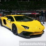 Lamborghini Aventador SV showcased at the 2015 Geneva Motor Show