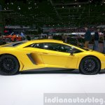 Lamborghini Aventador SV side at the 2015 Geneva Motor Show