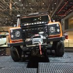 Land Rover Defender Adventure Edition leaked at the 2015 Geneva Motor Show