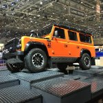 Land Rover Defender Adventure Edition side leaked at the 2015 Geneva Motor Show