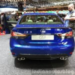 Lexus GS F rear at the 2015 Geneva Motor Show