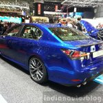 Lexus GS F rear three quarters at the 2015 Geneva Motor Show