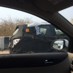Mahindra S101 side test mule spotted in Chennai, India