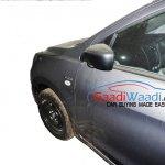 Maruti Celerio diesel side spied