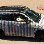 Maruti YBA mini SUV side spied