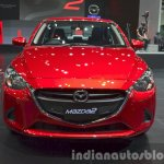 Mazda2 Sedan petrol variant at the 2015 Bangkok Motor Show