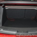 Mazda2 Sedan petrol variant boot space at the 2015 Bangkok Motor Show