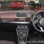 Mazda2 Sedan petrol variant dashboard at the 2015 Bangkok Motor Show