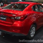 Mazda2 Sedan petrol variant taillamp at the 2015 Bangkok Motor Show