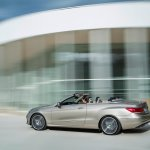 Mercedes E-Class Cabriolet in motion