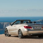 Mercedes E-Class Cabriolet rear three quarter