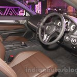 Mercedes E400 Cabriolet cabin from the launch in India