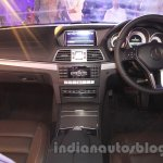 Mercedes E400 Cabriolet dashboard from the launch in India