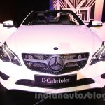 Mercedes E400 Cabriolet front view from the launch in India