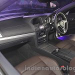 Mercedes E400 Cabriolet interior from the launch in India