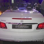 Mercedes E400 Cabriolet rear from the launch in India