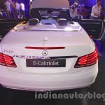 Mercedes E400 Cabriolet rear view from the launch in India